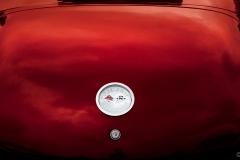 corvette red trunk